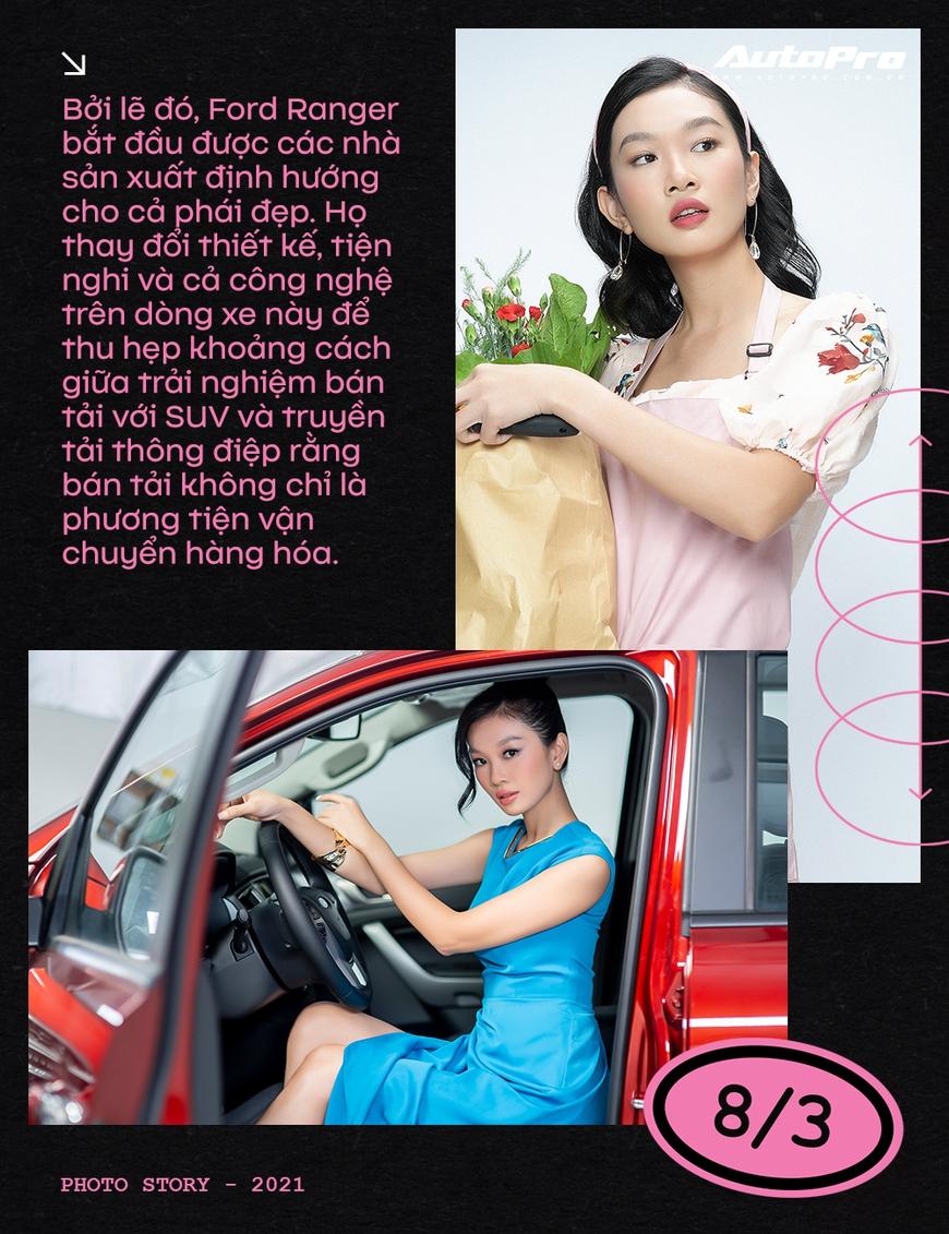 Phụ nữ ngày càng dễ phải lòng xe bán tải - Ảnh 6.