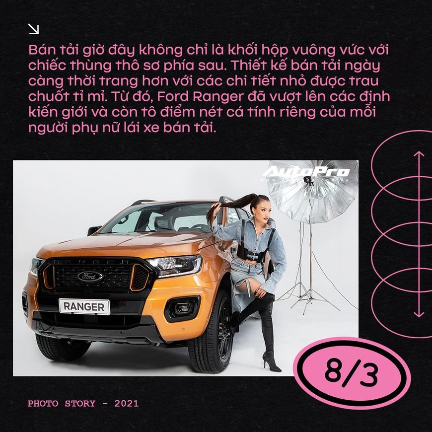 Phụ nữ ngày càng dễ phải lòng xe bán tải - Ảnh 7.