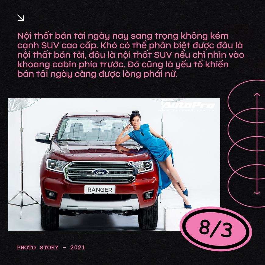 Phụ nữ ngày càng dễ phải lòng xe bán tải - Ảnh 8.