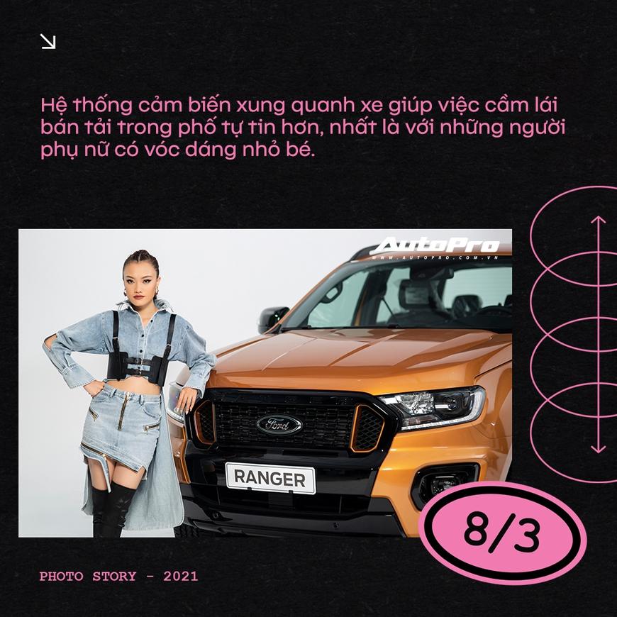 Phụ nữ ngày càng dễ phải lòng xe bán tải - Ảnh 9.