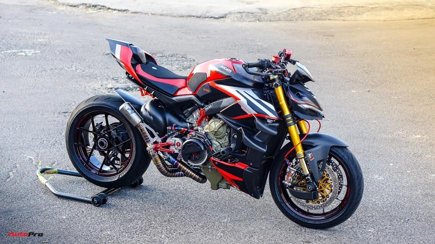 Biker Việt chi gần 1 tỷ đồng độ Ducati Streetfighter V4, riêng bộ mâm ngang ngửa chiếc Honda SH - Ảnh 1.