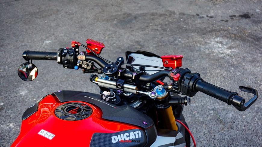 Biker Việt chi gần 1 tỷ đồng độ Ducati Streetfighter V4, riêng bộ mâm ngang ngửa chiếc Honda SH - Ảnh 8.