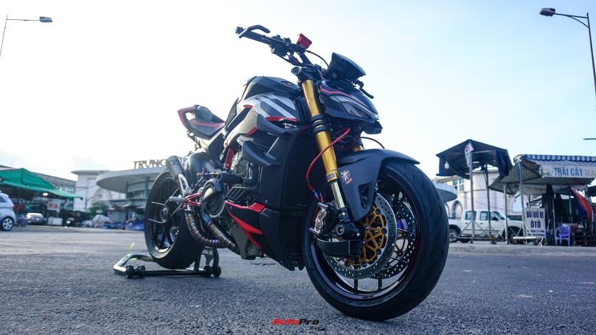 Biker Việt chi gần 1 tỷ đồng độ Ducati Streetfighter V4, riêng bộ mâm ngang ngửa chiếc Honda SH - Ảnh 6.
