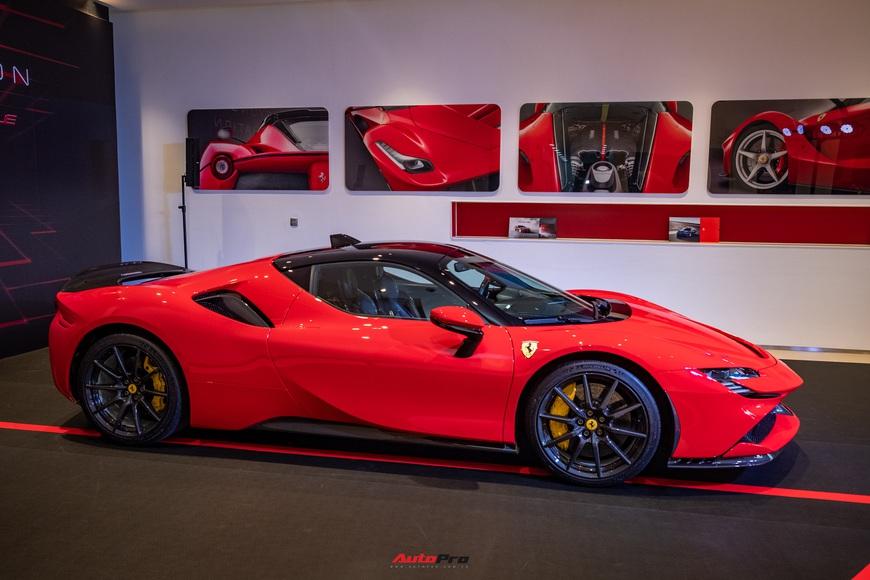 Ferrari SF90 Stradale chính hãng đầu tiên về Việt Nam: Giá trên 30 tỷ đồng, không phải xe của Cường Đô La - Ảnh 9.