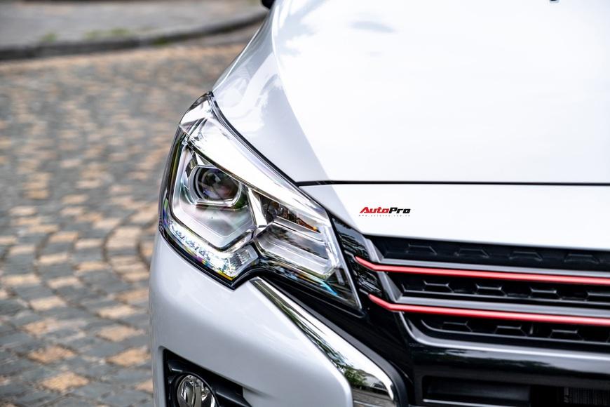 Đánh giá Mitsubishi Attrage 2021: Option thực dụng, máy 1.2L hợp đi phố - Ảnh 5.