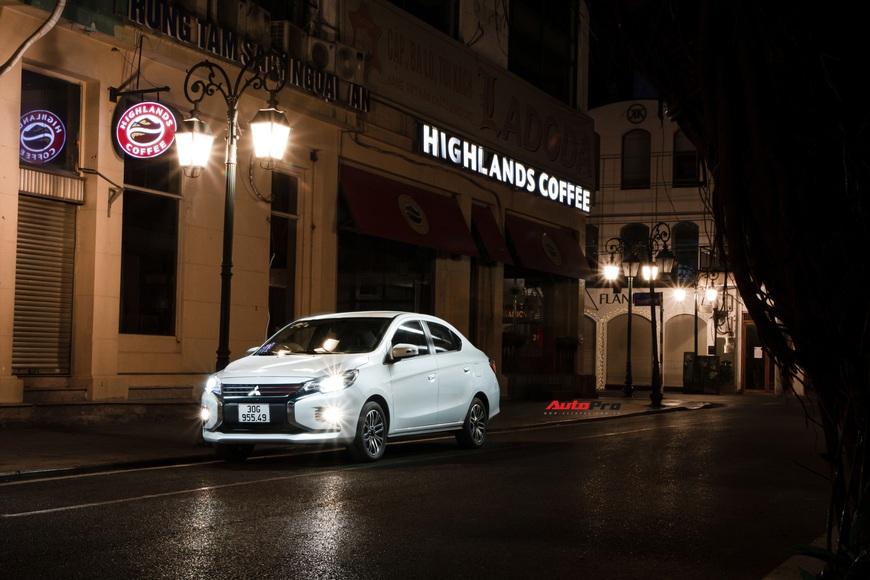 Đánh giá Mitsubishi Attrage 2021: Option thực dụng, máy 1.2L hợp đi phố - Ảnh 17.