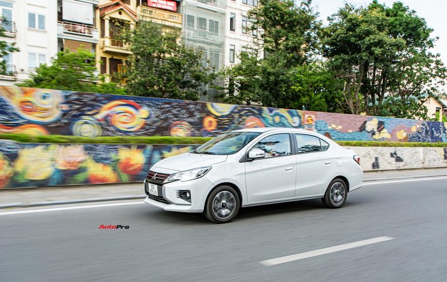 Đánh giá Mitsubishi Attrage 2021: Option thực dụng, máy 1.2L hợp đi phố - Ảnh 8.