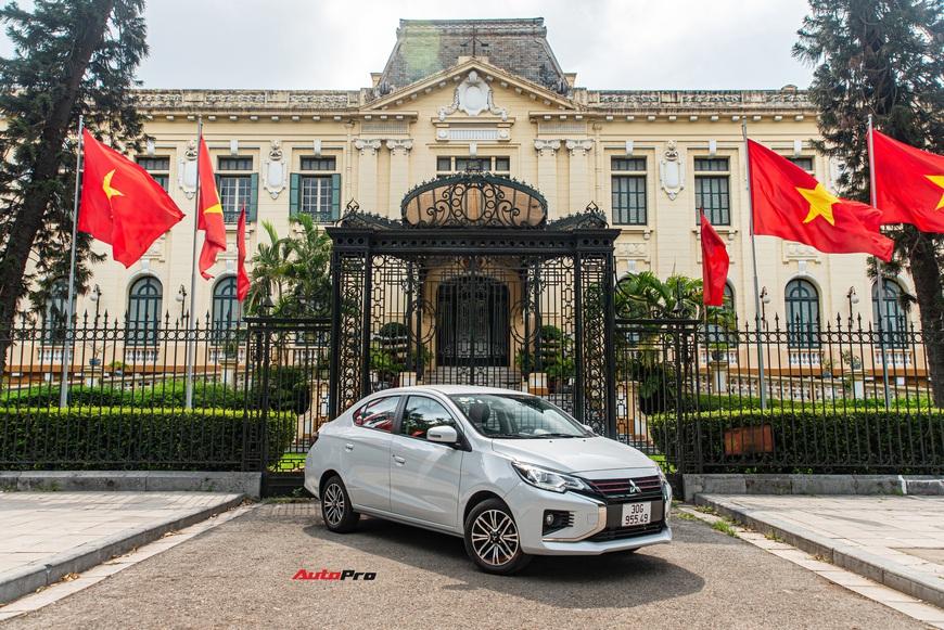 Đánh giá Mitsubishi Attrage 2021: Option thực dụng, máy 1.2L hợp đi phố - Ảnh 12.