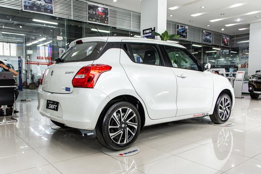 Khám phá Suzuki Swift 2021 giá 550 triệu vừa về đại lý: Có trang bị nhất phân khúc, tham vọng cải thiện doanh số - Ảnh 6.