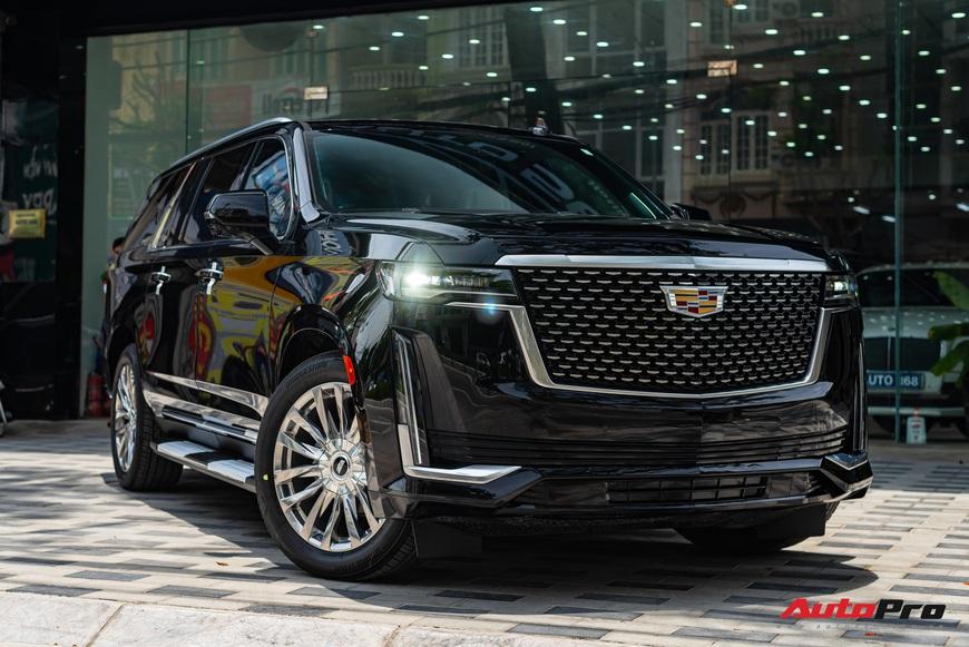 Cadillac Escalade ESV giá gần 12 tỷ đồng - SUV full-size hạng sang cho nhà giàu Việt - Ảnh 7.