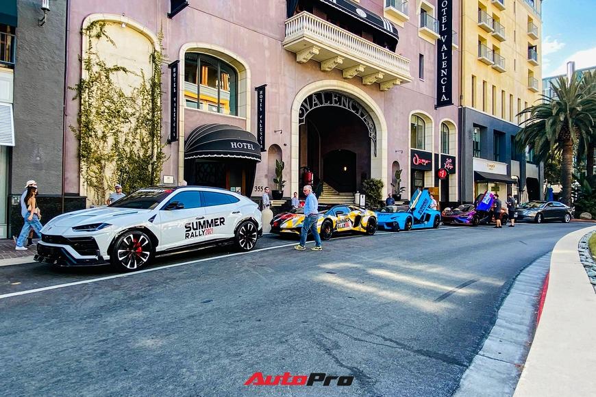 Soi giá dàn siêu xe 200 tỷ đồng tại Summer Rally: Lamborghini áp đảo, xe của thành viên Gia Lai Team mạnh nhất - Ảnh 1.