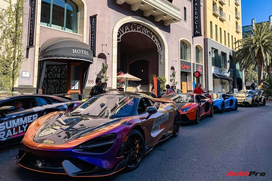 Summer Rally ngày 1: Dàn siêu xe sặc sỡ của người Việt vượt 450 km, thêm chiếc Ferrari thứ 2 nhập đoàn - Ảnh 1.