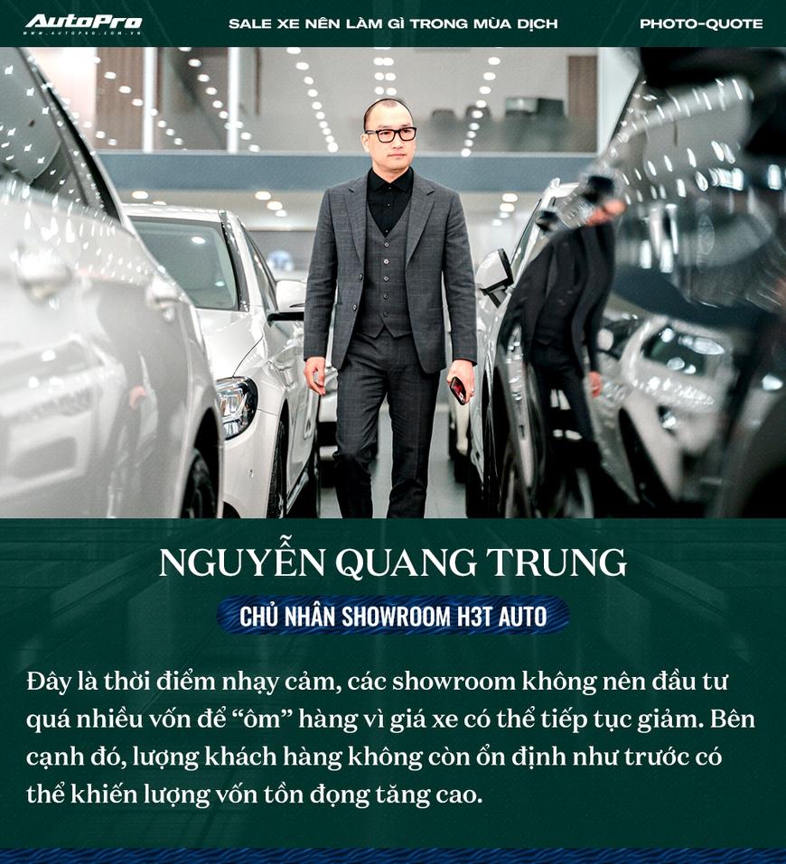 Các sếp showroom xe lớn tại Hà Nội: Thận trọng khi ôm hàng, giảm giá, hãy cho khách hàng thông tin hữu ích để bung lụa khi hết giãn cách - Ảnh 2.