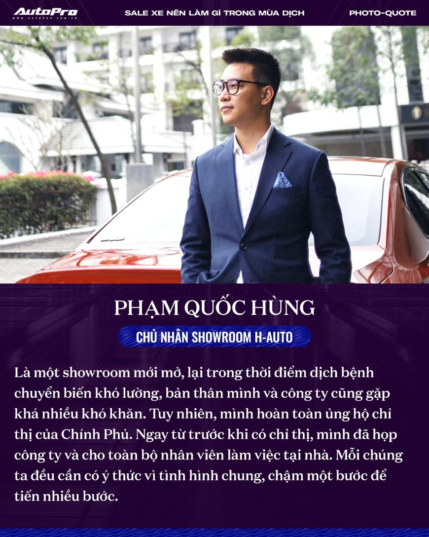 Các sếp showroom xe lớn tại Hà Nội: Thận trọng khi ôm hàng, giảm giá, hãy cho khách hàng thông tin hữu ích để bung lụa khi hết giãn cách - Ảnh 3.