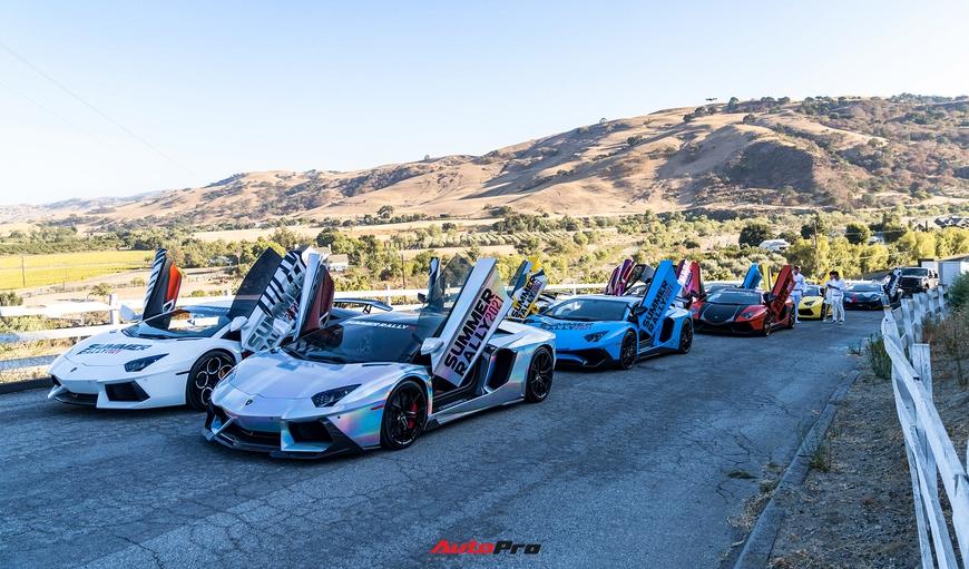 Hành trình Summer Rally bẻ lái vào phút cuối, kéo dài hành trình thêm một tuần, còn 8 siêu xe tham gia - Ảnh 9.