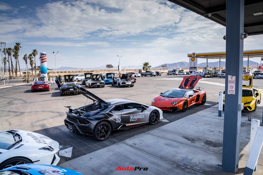 Hành trình Summer Rally bẻ lái vào phút cuối, kéo dài hành trình thêm một tuần, còn 8 siêu xe tham gia - Ảnh 5.