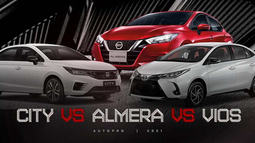 Gần 600 triệu, chọn Nissan Almera hay Vios, City: Đều xe Nhật, thích mới hay giữ giá, lái hay?