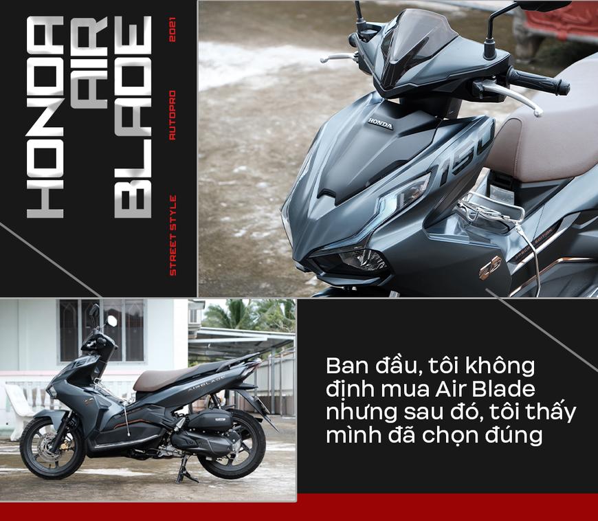 Người dùng Honda Air Blade 150 đánh giá: Định không mua vì nhàm nhưng thành fan cuồng sau gần 1 năm sử dụng - Ảnh 2.