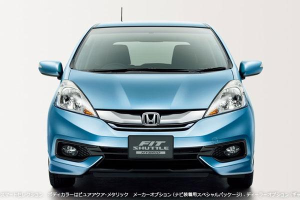 Honda Fit Shuttle 2014: Gần như không thay đổi
