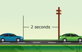 Tính khoảng cách với xe phía trước như thế nào và mẹo cần biết để không bị tai nạn