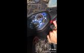 Xe máy độ mở khóa vân tay - option đến ô tô còn chưa có