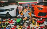 """Cậu bé người Việt sở hữu 7.000 """"siêu xe"""" gần tỷ đồng"""