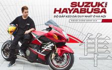 """Khám phá """"Thần Gió"""" Suzuki Hayabusa độ gắp kéo dài duy nhất tại Hà Nội cùng lời chia sẻ của chủ nhân sau hơn 1 năm sử dụng"""