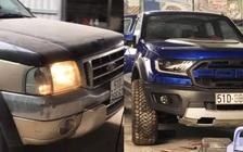 Dân chơi Việt lột xác Ford Ranger đời cổ thành Ranger Raptor với nội thất gây 'nhức nhối'