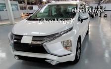 Mitsubishi Xpander phiên bản mới bất ngờ lộ diện tại nhà máy