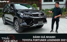 Đánh giá nhanh Toyota Fortuner Legender: Ngập công nghệ, ngoại thất đủ đẹp để không 'chìm' trước Santa Fe