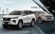 Chọn Toyota Fortuner 2021 hay Ford Everest 2020: Bộ đôi SUV 'ngập' công nghệ giá 1,4 tỷ đồng