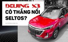 Bóc tách Beijing X3 vừa về Việt Nam: Đấu Kia Seltos bằng giá Sonet, hàng hot sau Beijing X7