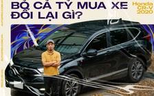Người dùng đánh giá Honda CR-V 2020: 'Bỏ cả tỷ mua xe full option để thấy trang bị không chỉ để làm màu'