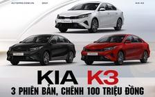 Chênh 100 triệu đồng, đây là khác biệt 3 bản Kia K3 2022 vừa ra mắt: Bản giữa tiết kiệm 30 triệu đồng, Premium nhiều 'option' xịn xò