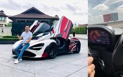 Doanh nhân Cường 'Đô-la' lái McLaren đạt tốc độ 250 km/h trong chuyến tiền trạm ASEAN Rally 2020