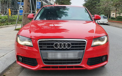 Audi A4 2.0T sử dụng gần 10 năm được rao bán với giá rẻ hơn Toyota Vios số sàn