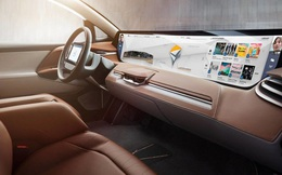 Byton Concept - xe điện Trung Quốc có màn hình giải trí lớn nhất thế giới