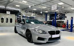 Kỳ công độ phong cách M6, BMW 640i Gran Coupe màu lạ bán lại giá hơn 2,8 tỷ đồng