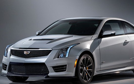 Chi tiết xe hai cửa hạng sang Cadillac ATS-V Coupe 2016