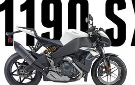 EBR 1190SX - Streetfighter mang động cơ siêu môtô