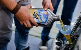 Máy êm, xe nhạy khi dùng dầu nhớt tốt