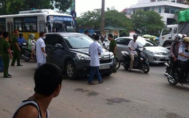 Vừa hạ kính, lái xe ô tô bị giết chết ngay cạnh trụ sở Bộ Công An