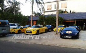 Điểm mặt dàn siêu xe tụ hội tại Phan Thiết
