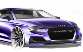Audi A9 sẽ là mẫu coupe bốn cửa với sức mạnh lên đến 600 mã lực