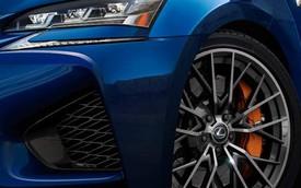 Lexus GS F - Đối thủ của BMW M5 lộ diện