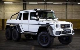 """Off-road """"khổng lồ"""" Mercedes-Benz G63 AMG 6x6 độ Carlsson lộ diện"""