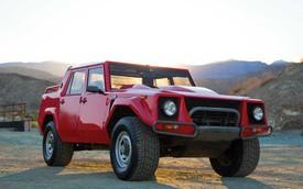 Xe SUV hiếm có Lamborghini LM002 rao bán với giá cao