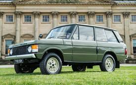 Cận cảnh chiếc Range Rover đầu tiên trên thế giới