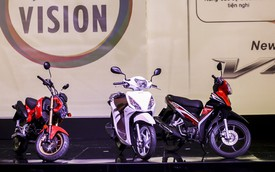 Bộ ba xe máy mới ra mắt của Honda Việt Nam có giá bao nhiêu?