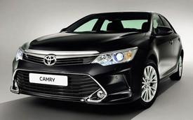 Toyota Camry 2015 bản cải tiến lộ diện